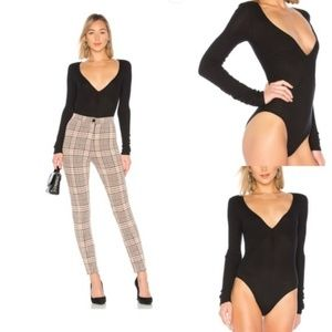 FREE PEOPLE Cozy Up With Me Long Sleeve Bodysuit